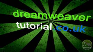 dreamweaver tutorial create a basic web page in 5 minutes