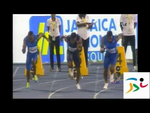 Yohan Blake 9.97s Mens 100m Racers Grand Prix 2017