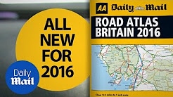 FREE 2016 AA Road Atlas inside Saturday's Daily Mail - Daily Mail