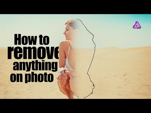 Affinity Photo Tutorial #05 | How to Remove unwanted object from a Photo