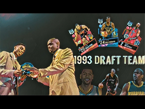 1993 Nba Draft Class Team