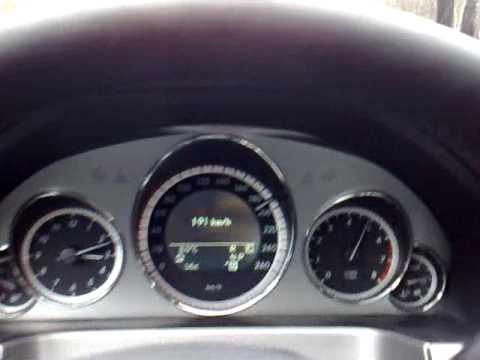Mercedes - Benz E 350 CGI Berlin - Stuttgart 255 km/h 292 PS