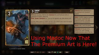 Guerilla Tactics Madoc Deck Profile and Analysis (Gwent Viewer Submitted Deck)
