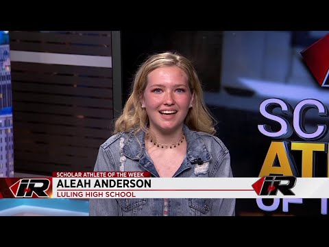 Scholar Athlete: Aleah Anderson, Luling High School