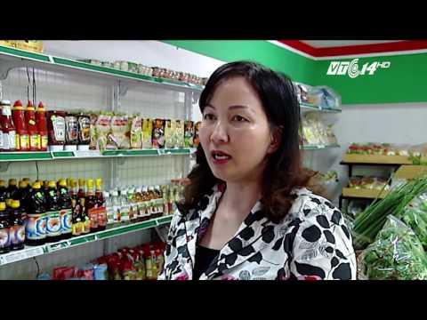 Khai trương cửa hàng TPAT của HTX Hòa Bình - Điểm bán UBND quận Hà Đông (TABA đầu tư)