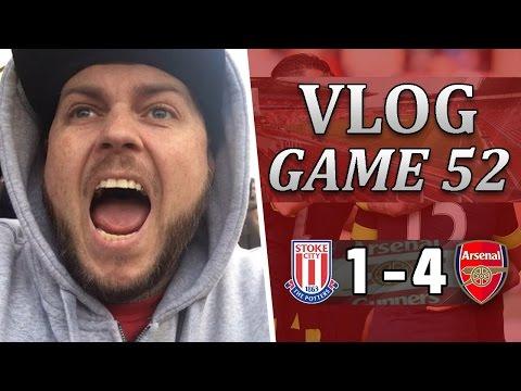Stoke City 1 v 4 Arsenal   Superb Performance   Matchday Vlog   Game 52