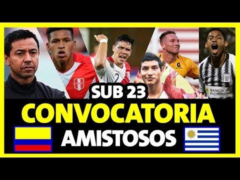CONVOCADOS SELECCIÓN PERUANA SUB-23 - AMISTOSOS PERU VS COLOMBIA 2019