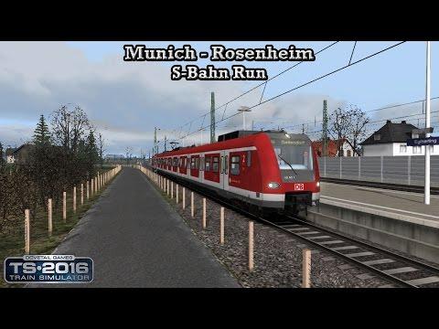 Train Simulator 2016 - Career Mode - Munich - Rosenheim - S-Bahn Run Part 1 |
