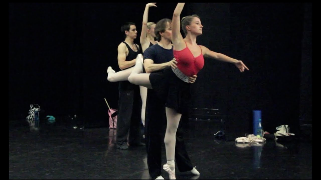 Maine State Ballet: Partnering Class - YouTube