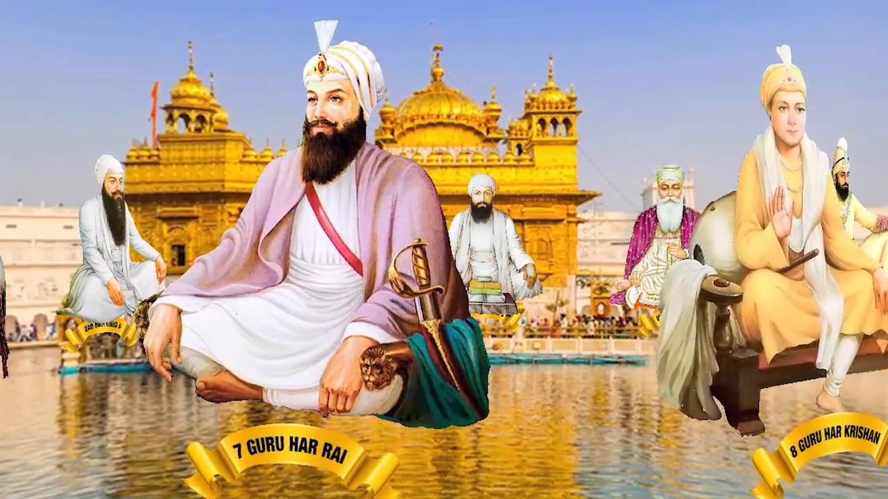 of sikh gurus free
