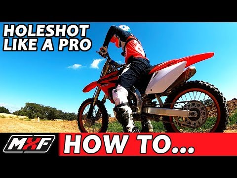 How to Holeshot a Dirt Bike - Best 3 Starting Techniques