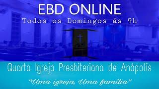 EBD IV IPA | PASTOREANDO AS CRIANÇAS | 05/09/2021