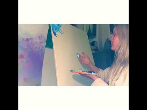 Live Abstract Painting