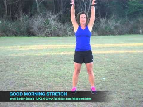 Good Morning Stretch Routine Beginner - YouTube
