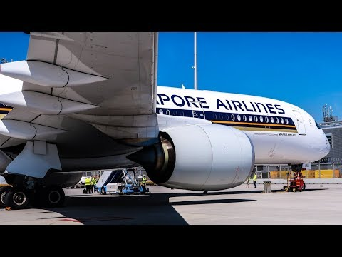 Singapore Airlines FANTASTIC ECONOMY CLASS | Airbus A350-900 | Singapore - Munich