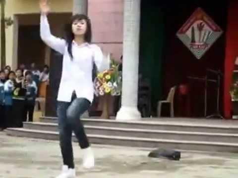 Màn Nhảy Hip Hop Của Nữ Sinh Nam Định Qúa Hấp Dẫn