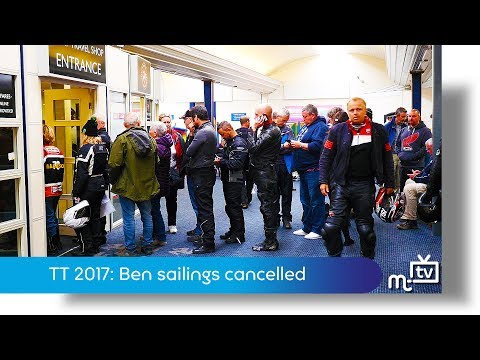TT2017: Ben-my-Chree Sailings Cancelled