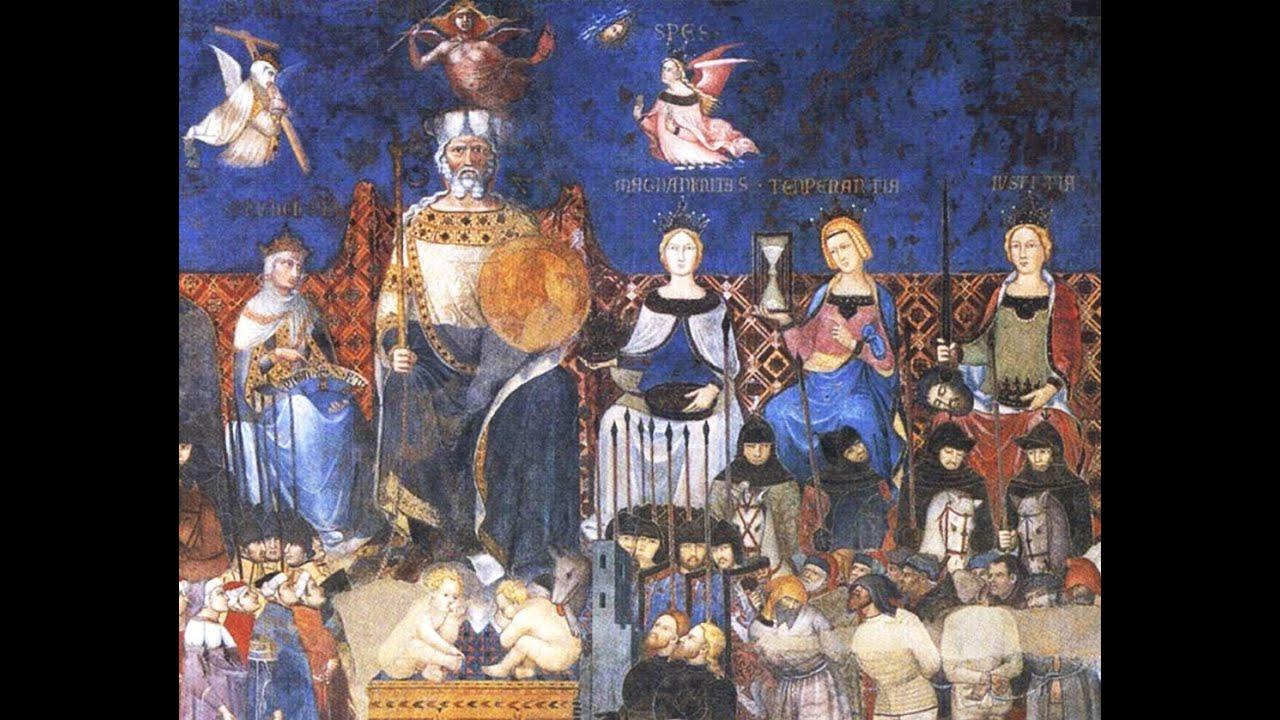 Sala Dei Nove Good Government.Fay Renardson On Ambrogio Lorenzetti S Good Government