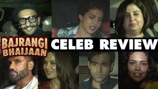 Bajrangi Bhaijaan Celebrity Review