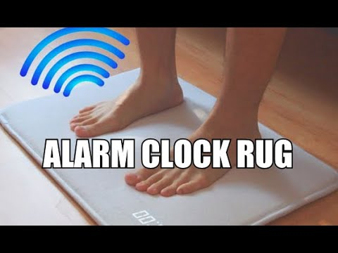 Alarm Clock Floor Mat