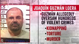 El Chapo trial: Witness says Guzman was recorded on unsecured line