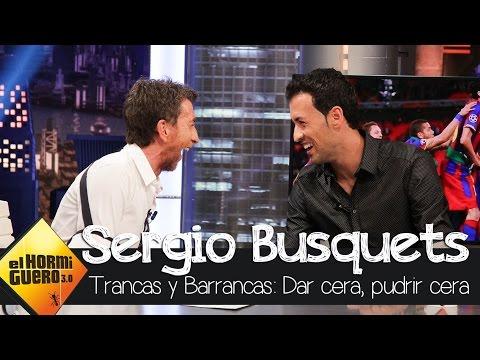 Busquets se divierte con Trancas y Barrancas - El Hormiguero 3.0