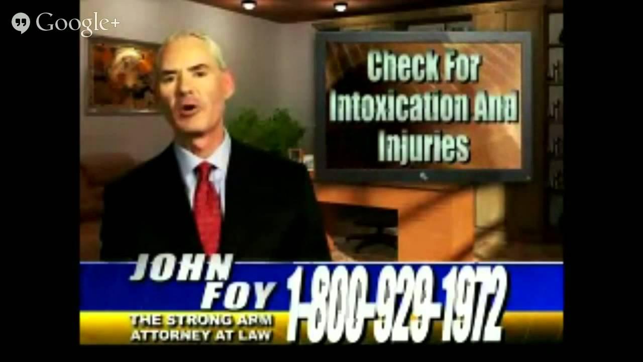 Atlanta Car Accident Lawyer: Atlanta Personal Injury Lawyer, Attorney John Foy 10 Tips
