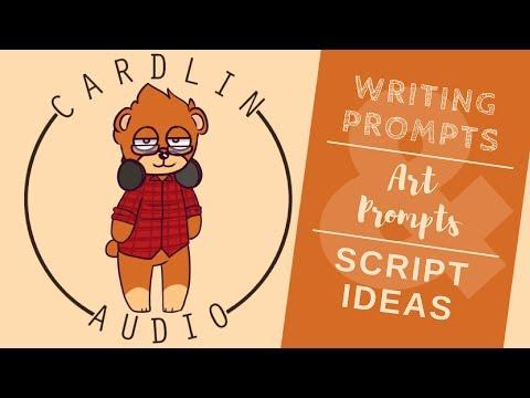 Writing & Art Prompts & Script Ideas - #15!