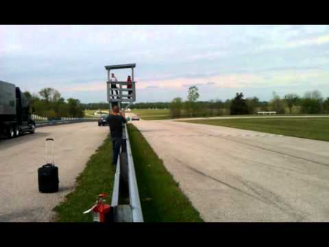 Audi R8 LMP - drive by