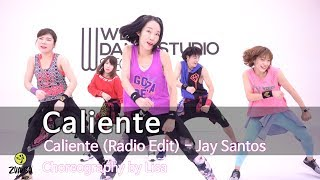 Caliente - Jay Santos / Easy Dance Fitness Choreography / Zumba / POP /Wook's Zumba® Story / Lisa