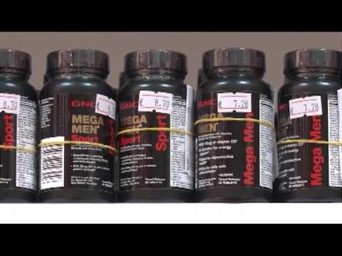 GNC- Mega Men - Energy, Sport, 50+, Diabetic