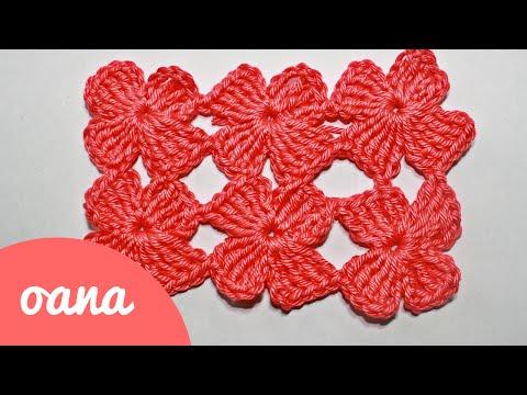 crochet clover stitch