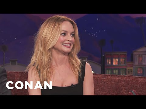 Heather Graham Turned Down Dildo Product Placement   CONAN on TBS