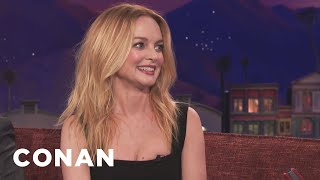 Heather Graham Turned Down Dildo Product Placement  - CONAN on TBS