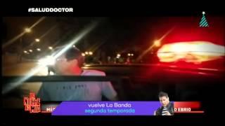 De salud en salud: Doctor TV se mete bomba y es detenido