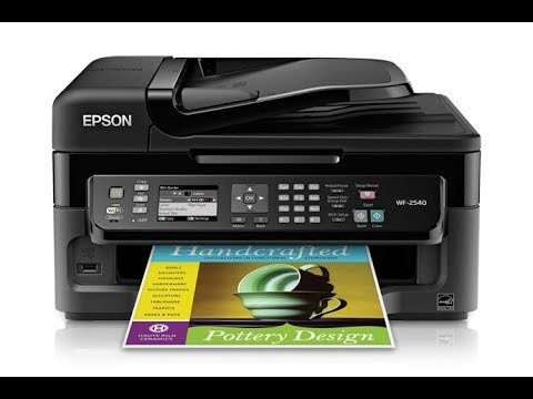 Epson WF-2540 How To Clean Printhead⬇️Link In Description⬇️