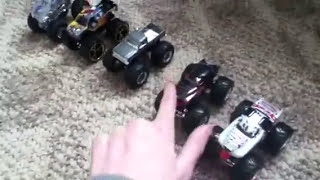 Hot Wheels Monster Jam: Dalmatian & Rottweiler Unboxing!