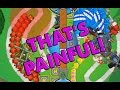 MOUNTAINS OF PAIN + Music Glitch - Bloons TD Battles Dance Time