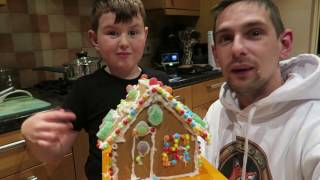 Gingerbread House With MiniFox