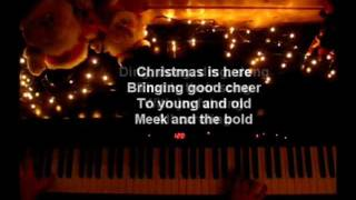 Christmas Carol Medley on Piano - Lyrics