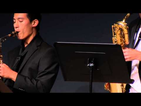 Under the sea: Mira Costa Sax Pack at TEDxManhattanBeach