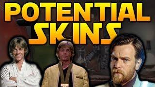 NEWS UPDATE: Potential Luke, Obi-Wan Skins From New Concept Art - Battlefront 2