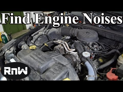 Diagnosing Engine Noise Using Your Ear and Simple Tools