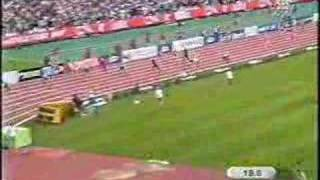 2003 World Athletics Champs womens 4x100m relay final