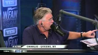 WFAN's Mike Francesa Responds to Prank Callers by Reminding Them He Is Rich.