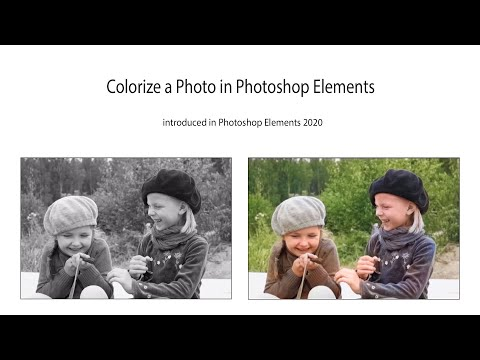 Automatically Colorize Photos in Photoshop Elements
