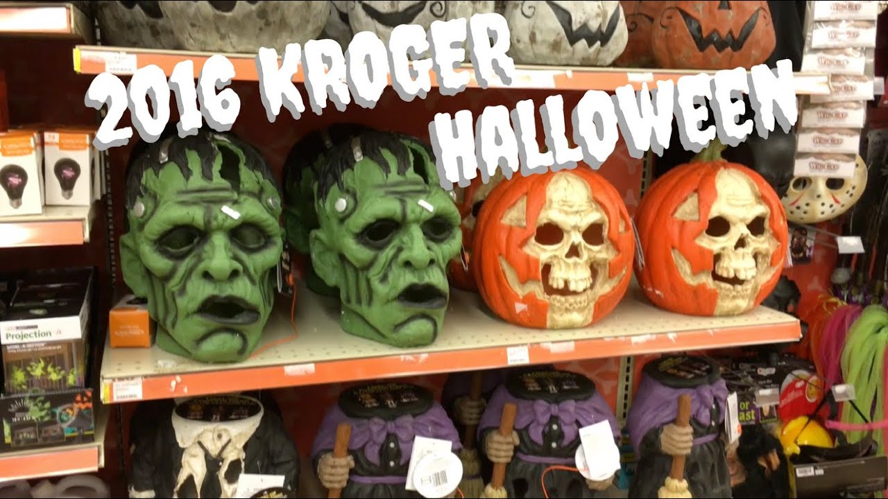 Kroger's 2016 Halloween Items - YouTube