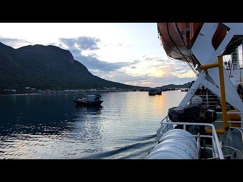 22.04.2013 Boat-trip from Vũng Tàu to Côn Đảo, Schifffahrt von Vung Tau nach Gon Dao , german *HD*