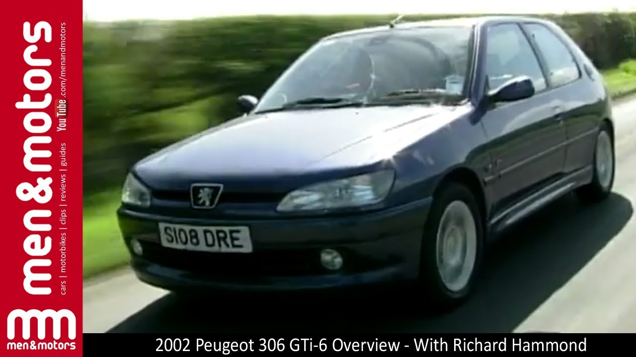 2000 peugeot 306 gti-6 review - with richard hammond - youtube