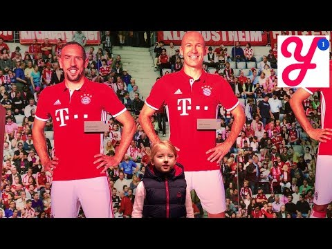 Германия #16 Раздевалка Бавария Мюнхен Стадион За Кулисами Allianz Arena Bayern Munich